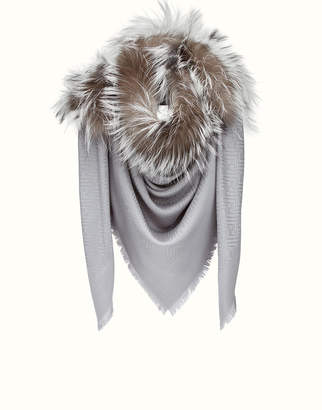 Touch Of Fur Shawl $1,050 thestylecure.com