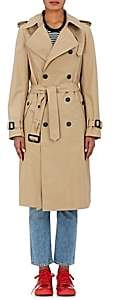 BEIGE VIS A VIS Women's Cotton Belted Trench Coat