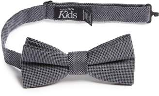 Nordstrom Solid Wool & Silk Bow Tie