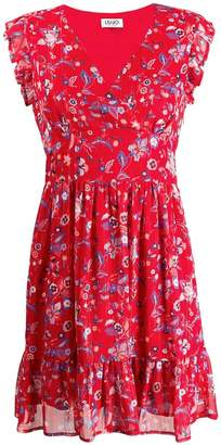 Liu Jo Texan flower print mini dress