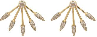 Pamela Love Fine Jewelry Women's Five Spike Earrings