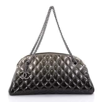 Chanel Green Leather Handbag