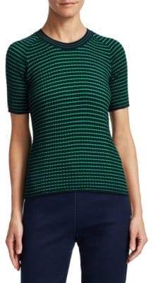 Piazza Sempione Stripe Knit Top