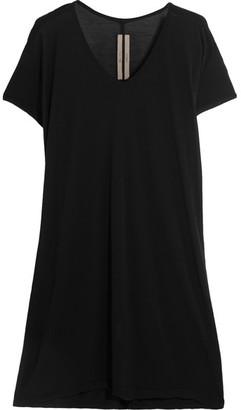 Rick Owens - Oversized Jersey T-shirt - Black $360 thestylecure.com