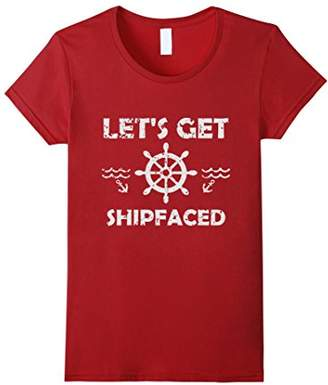 Funny Boat Party Shirt | Shipfaced Family Cruise Tee