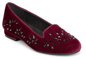 Aerosoles Good Graces Velvet Loafers