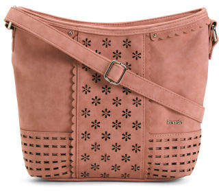 Arya Perforated Crossbody