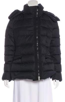 Moncler Hooded Down Jacket w/ Tags Black Hooded Down Jacket w/ Tags