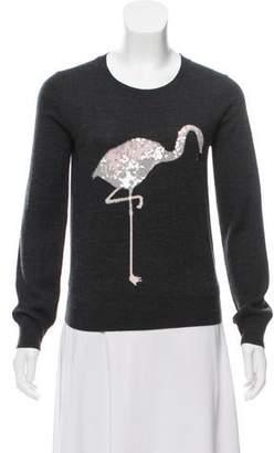 Markus Lupfer Wool Embellished Sweater