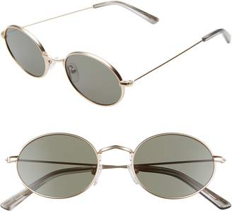 2443425887ecb Madewell 50mm Wire Rimmed Round Sunglasses