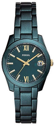 Fossil Scarlette Three-Hand Date Stainless Steel Bracelet Watch