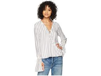 The Jetset Diaries Aries Stripe Shirt Women's Clothing