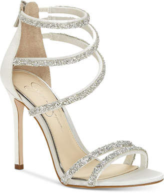 Jessica Simpson Jamalee Gemstone Evening Sandals Women's Shoes