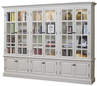 URBAN RESEARCH A&E Wood Designs French Restoration Brighton Oversized Set Bookcase