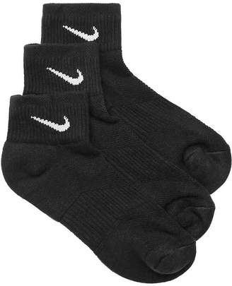 Nike Performance Cotton Ankle Socks - 3 Pack - Women's