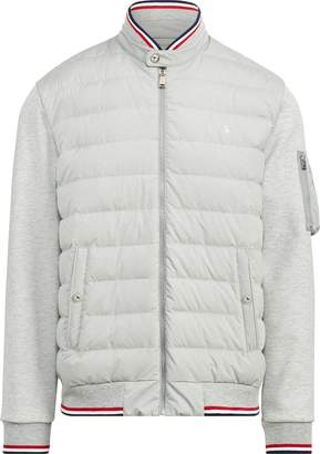 Ralph Lauren Down-Panel Double-Knit Jacket
