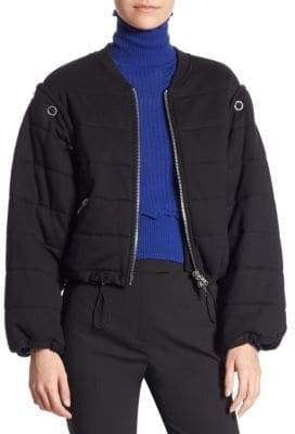 3.1 Phillip Lim Cotton Quilted Bomber Jacket