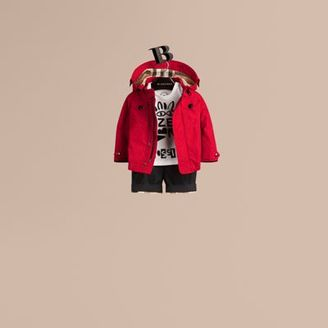 Burberry Hooded Technical Jacket $250 thestylecure.com