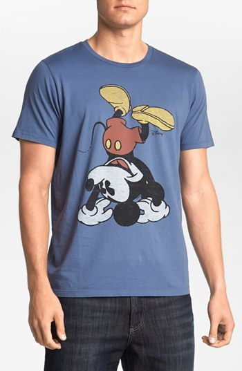 Junk Food 'Mickey Mouse' T-Shirt