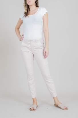 Level 99 Pink Linen Pant
