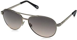 Fossil Women's FOS3051S Aviator Sunglasses