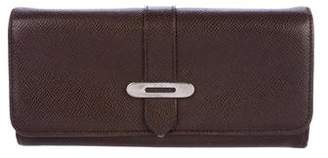 Tod's Pebbled Leather Wallet