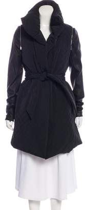 Thomas Wylde Quilted Knee-Length Coat