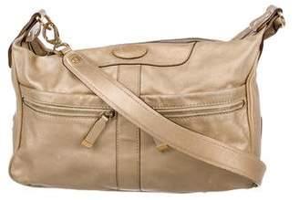 Tod's Metallic Leather Crossbody Bag