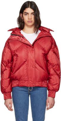 Dunlop Ienki Ienki Red Down Puffer Jacket