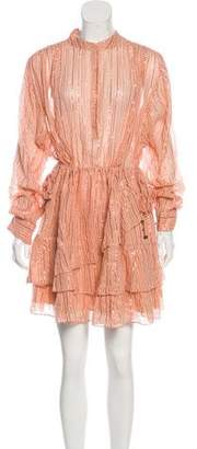 Ulla Johnson Long-Sleeve Mini Dress w/ Tags