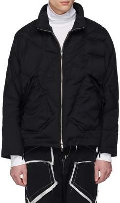 Sulvam Raw cuff down puffer jacket