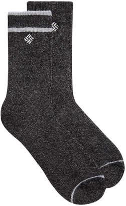 Columbia Women's 2-Pk. Wool Blend Fleece-Lined Crew Socks