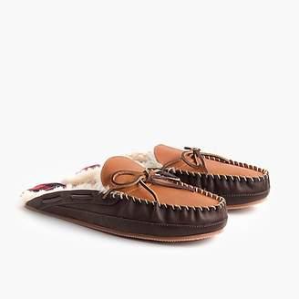 J.Crew Shearling scuff slippers