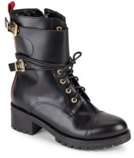Lace-Up Combat Boots $603 thestylecure.com