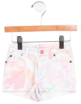 Paul Smith Girls' Lisandra Watercolor Shorts