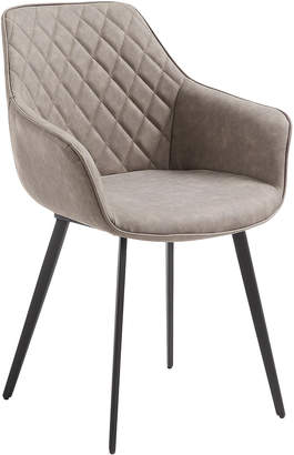 Linea Furniture Aaric Faux Leather Dining Chair