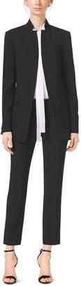 Michael Kors Stretch Wool-Gabardine Jacket