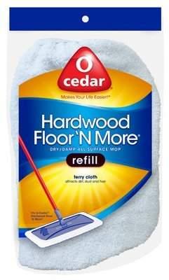 MOP O'Cedar # 118497 hardwood Floor & More Refill Bonnets - Quantity 7