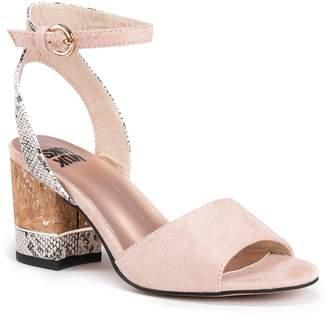 Muk Luks Priscilla Women's Chunky Heel Sling-Back Sandals