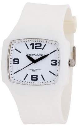 Dunlop Classic Men's Quartz Watch with Dial Analogue Display and Plastic Strap DUN-188-G11