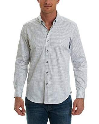 Robert Graham Men's Stone L/s Tailored Fit Sport Shirt