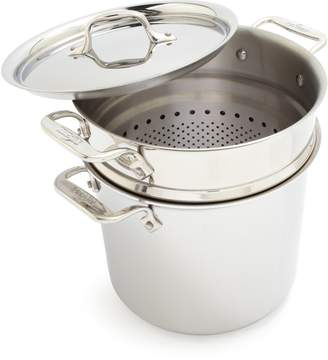 All-Clad Stainless Steel Pasta Pentola, 7 qt.