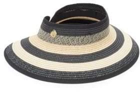 Vince Camuto Striped Visor Hat