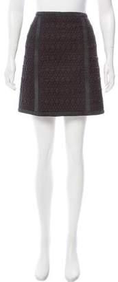 Philosophy di Alberta Ferretti Quilted Mini Skirt