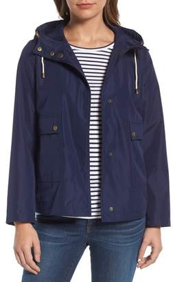 Caslon Short Hooded Jacket