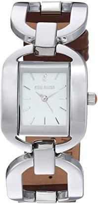 Steve Madden Women's Quartz Silver-Tone and Alloy Fashion Watch