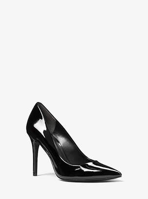 Michael Kors Claire Patent-Leather Pump