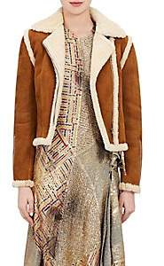 J.W.Anderson Women's Shearling Jacket - Gingerbread
