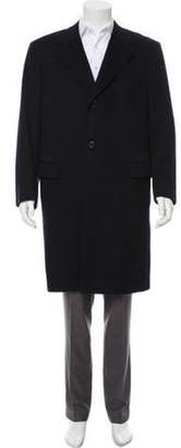 Kiton Long Cashmere Overcoat navy Long Cashmere Overcoat