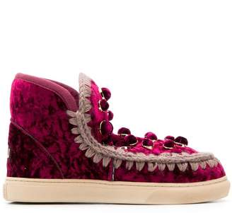 Mou velvet eskimo boots